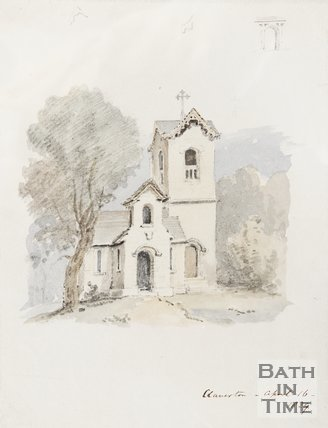 Watercolour Claverton, April 16th 1829