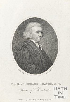 Revd. Richard Graves A.M Rector of Claverton, January 1st 1800