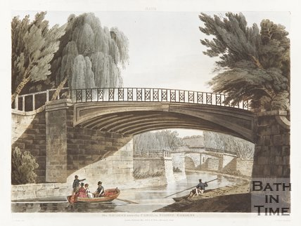 The bridges over the canal at Sydney Gardens 1805