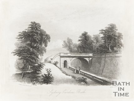 Sydney Gardens Bath January 1st 1843