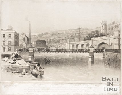 Mr Dredges Design for the Bath Bridge 1850?