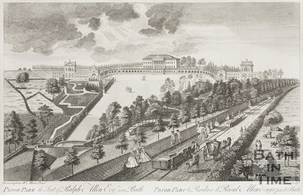Prior Park, the Seat of Ralph Allen Esq, 1750.