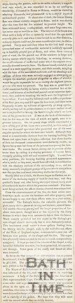Continuation of June 2nd 1836 article entitled Destructive Fire at Prior Park.