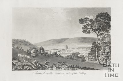 Bath from the Southern side of the Valley 1792