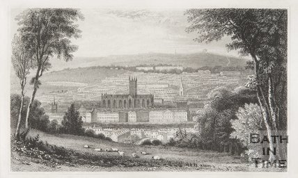 View of Bath 1840