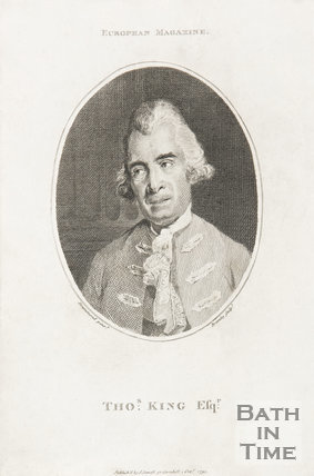 A portrait of Thomas King Esq., 1791