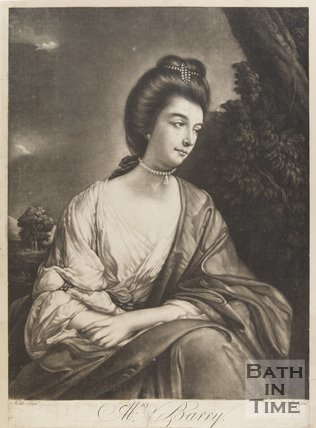 Portrait of Mrs Barry