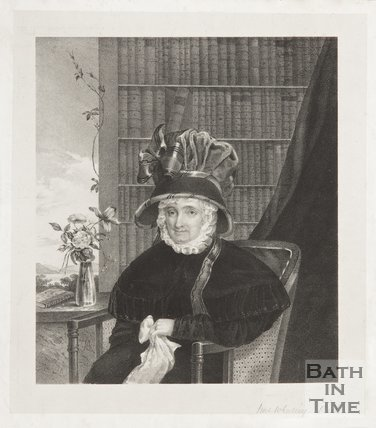 A portrait of Mrs Whalley, who lived in Queen Square.
