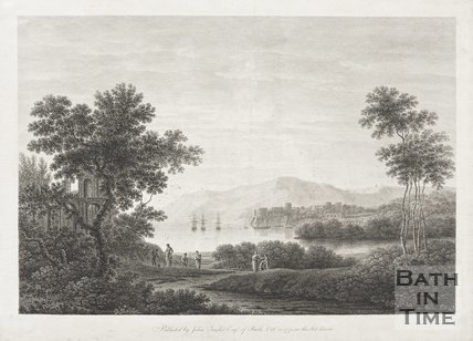 Engraving published by John Taylor of Bath, October 10th 1775.