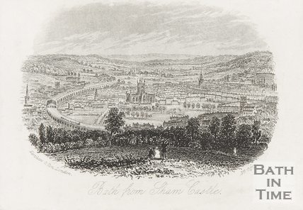 View of Bath from Sham Castle, c.1850