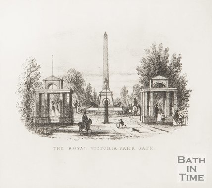The Royal Victoria Park Gate, 1857.