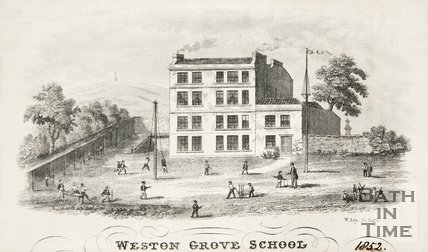 Weston Grove School, 1852.