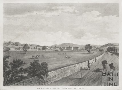 View of Bath, from the Lower Bristol Road 1801