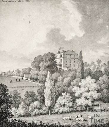 Lyde House, Sion Hill, Bath c.1850
