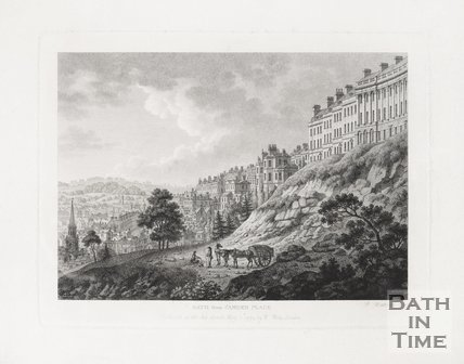 Bath from Camden Place 1794