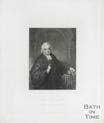 Portrait of Archdeacon Daubany. 1838.