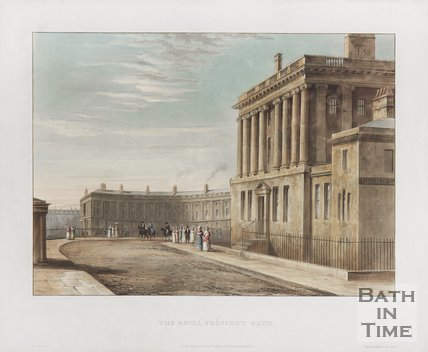 The Royal Crescent 1820