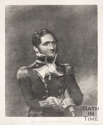 Portrait of Captain George Gosling.