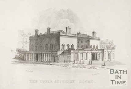The Upper Assembly Rooms, 1818