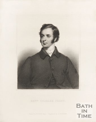 Portrait of Rev. Charles Prest of Bath