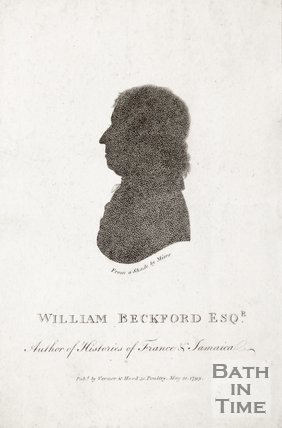 Silhouette of William Beckford Esq., 1799