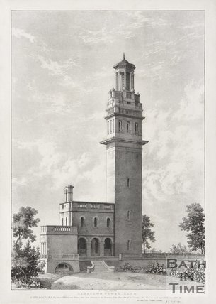 Lansdown Tower, 1823