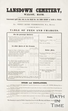 Pamphlet from the consecration of William Beckford, 1848
