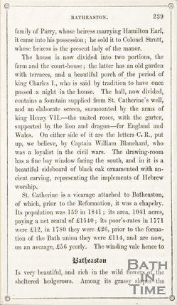 Page 239 from Rambles about Bath and its Neighbourhood, 1847