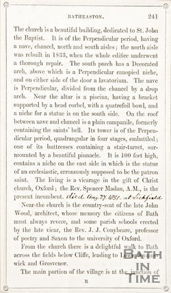 Page 241 from Rambles about Bath and its Neighbourhood, 1847