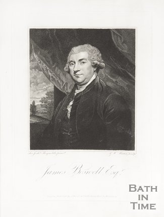 Portrait of James Boswell Esq.