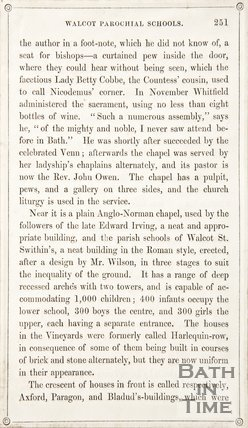 Page 251 from Rambles about Bath and its Neighbourhood, 1847