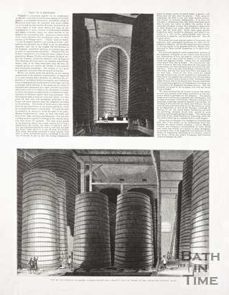 Newspaper article concerning The Northgate Brewery Bath, 1850