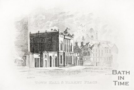 Town Hall & Market Place 1821