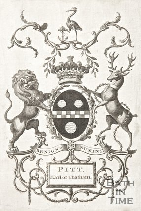The Coat of Arms of Williams Pitt, Earl of Chatham.