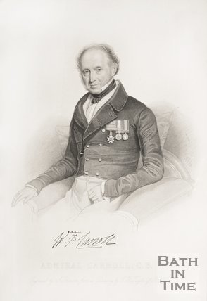 Portrait of Admiral Carroll C.B.