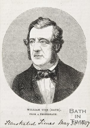Portrait of William Tite, 1857