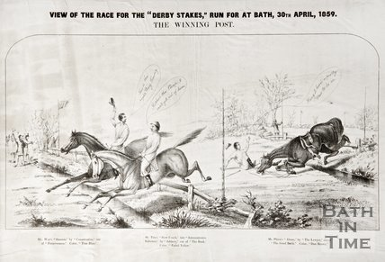 Review of the race for the Derby Stakes' run at Bath, 1860