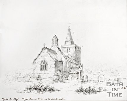 Limpley Stoke Church in Bath, 1846