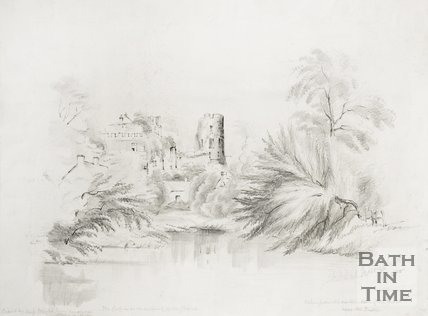 Farleigh Hungerford Castle, 1856