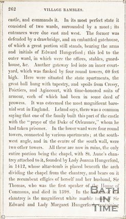 Page 262 from Rambles about Bath and its Neighbourhood, 1847
