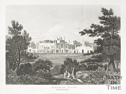 Farleigh Hungerford House, Somersetshire, 1818