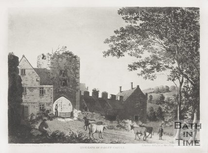 The gate of Farleigh Hungerford Castle 1793