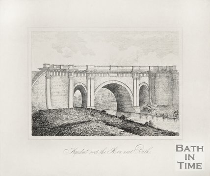 Aqueduct over the Avon near Bath c.1810
