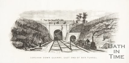 Corsham Down Quarry East end of Box Tunnel