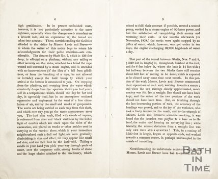 Pamphlet concerning the construction of the Great Weston Railway