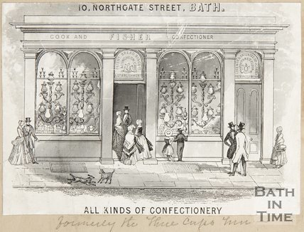 10, Northgate Street Bath, 1848