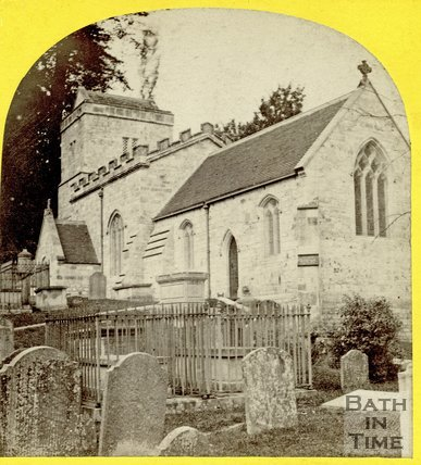 St. Mary's Church, Claverton c.1863