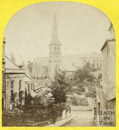 St. Matthew's Church, Widcombe, Bath c.1865