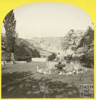 View of Cheddar Gorge, Somerset c.1868