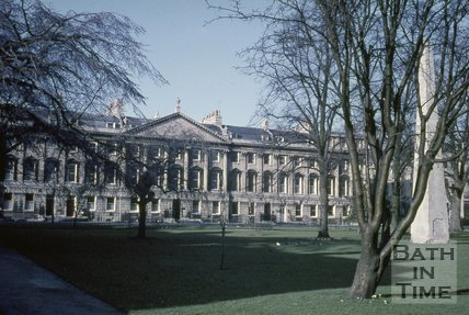 Queen Square, north side, Bath, c.1960s